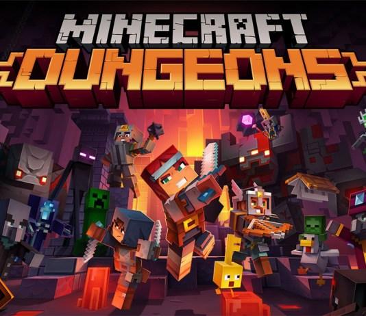 Trailer de lançamento de Minecraft Dungeons (Nintendo Switch)