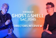 Vídeo da entrevista aos diretores de Ghost in the Shell: SAC_2045