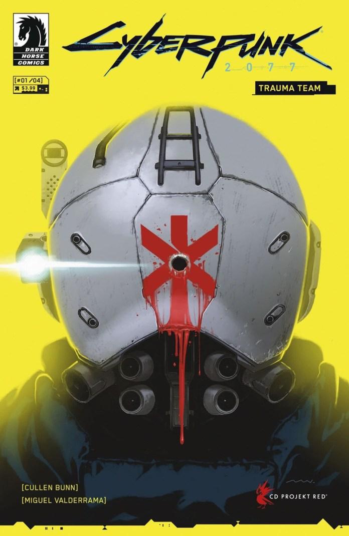 Cyberpunk 2077 vai ter banda desenhada Cyberpunk 2077: Trauma Team
