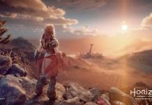 Dois screenshots de Horizon Forbidden West