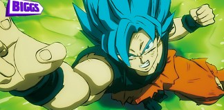 Filme de Dragon Ball Super: Broly no canal BIGGS