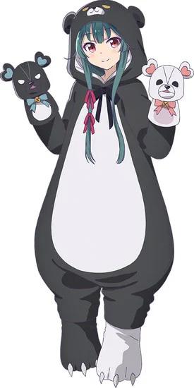 Maki Kawase como Yuna, uma jogadora obcecada que entra num RPG de fantasia como de costume, mas de repente é transportada para um mundo alternativo