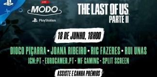 Vê aqui em direto o PlayStation LIVE sobre THE LAST OF US PARTE II