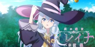 Anime de Majo no Tabitabi em Outubro 2020
