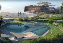 Cyberpunk 2077 mostra arte de Westbrook