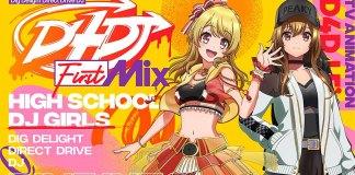 Série anime D4DJ First Mix vai estrear em Outubro