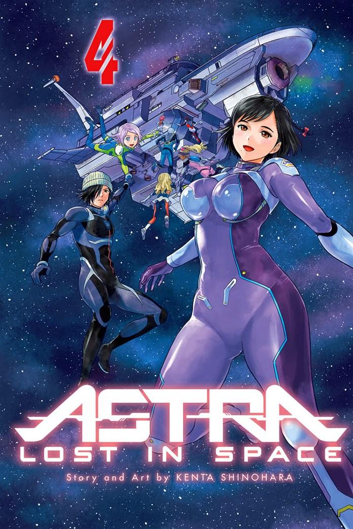 Capa do volume 4 de Astra Lost in Space (Kanata no Astra)