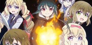 Nova imagem promocional da série anime Kuma Kuma Kuma Bear