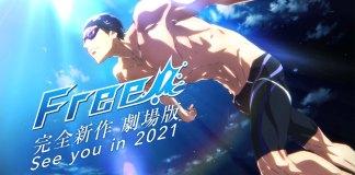 Novo filme anime de Free! em 2021