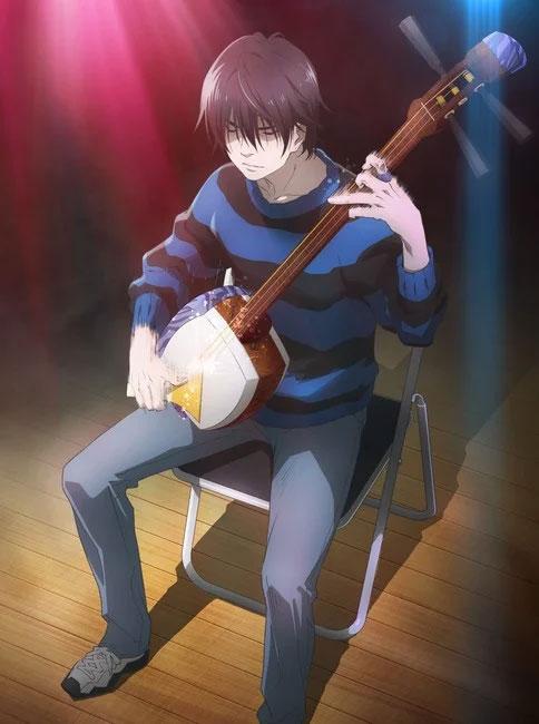 Imagem promocional da adaptação para série anime do mangá Mashiro no Oto