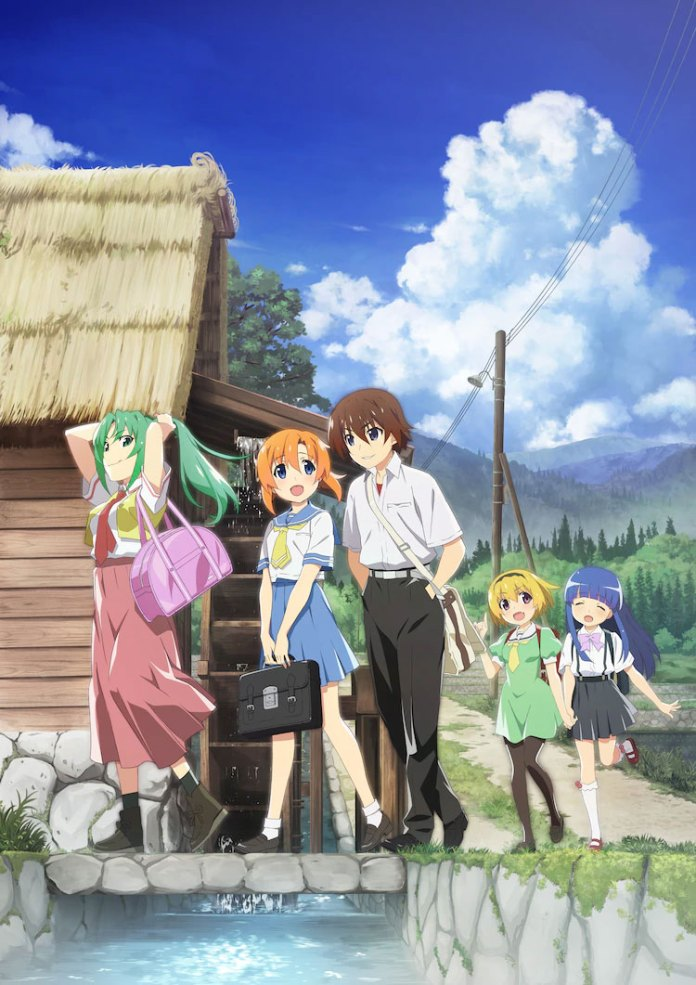 Trailer revela data de estreia do novo anime de Higurashi: When They Cry