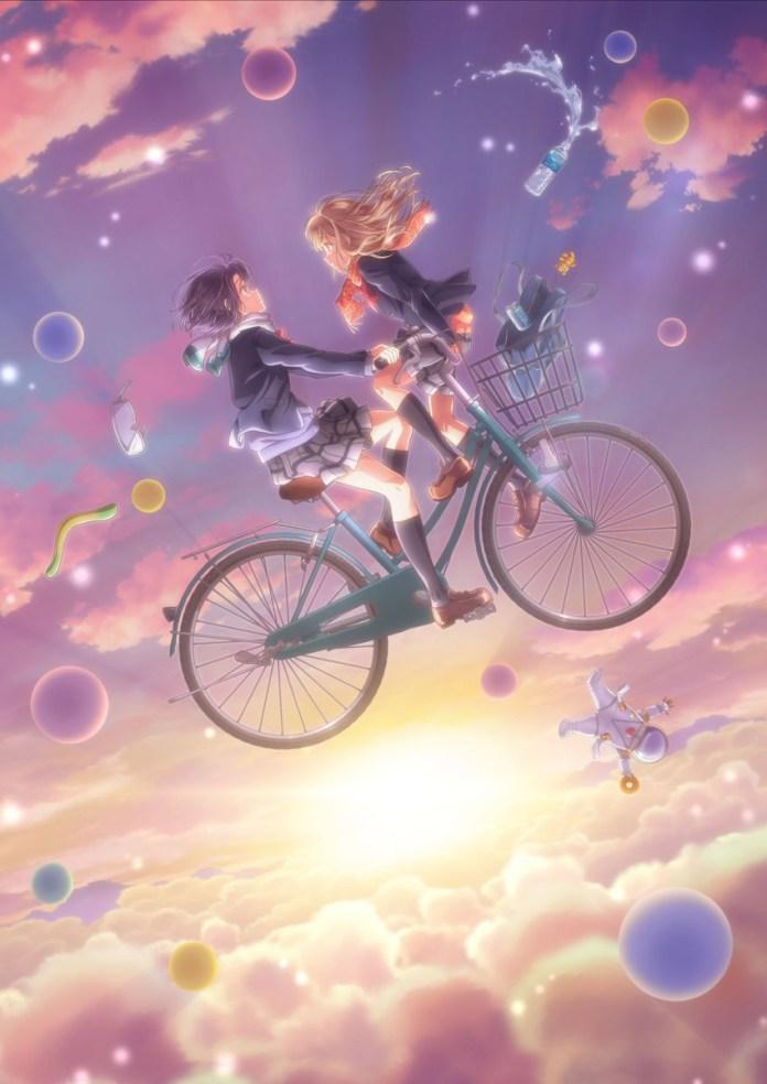 Anime yuri Adachi to Shimamura já tem data de estreia
