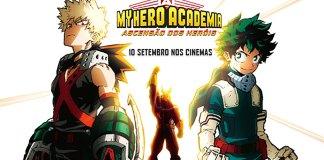 Confirmada nova data de estreia de My Hero Academia: Ascensão dos Heróis em Portugal