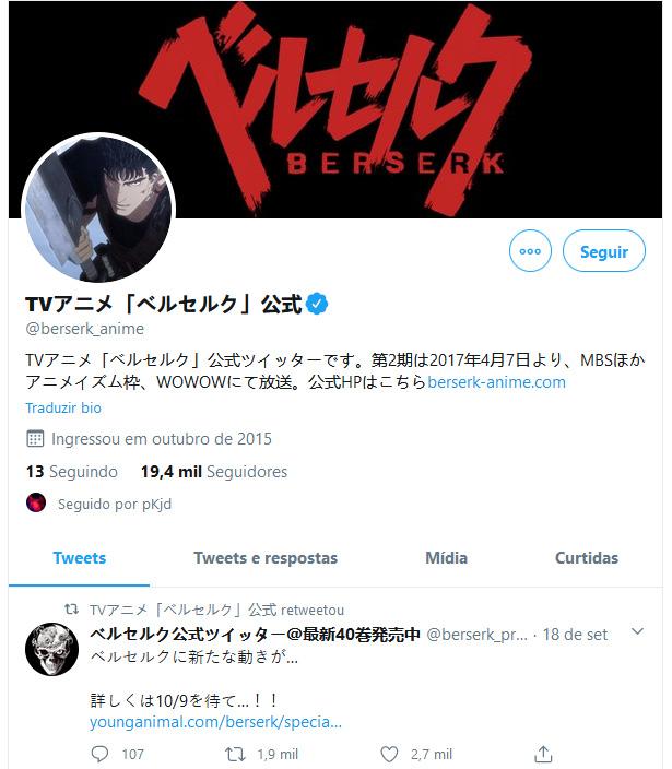 """""""Grande anúncio"""" de Berserk pode ser mesmo uma nova série anime, mas nem tudo são boas notícias"""