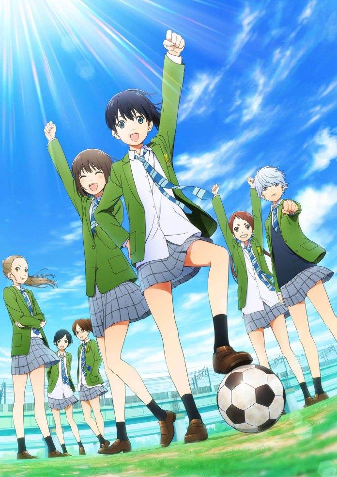Imagem promocional da série anime de Farewell, My Dear Cramer