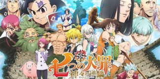 The Seven Deadly Sins é o anime mais popular na Netflix em Portugal