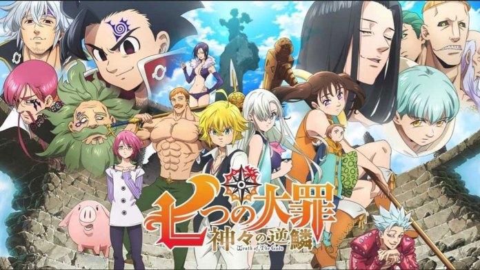 The Seven Deadly Sins é o anime mais popular na Netflix em Portugal