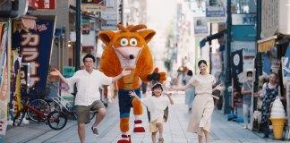 Trailer live-action japonês de Crash Bandicoot 4: It's About Time