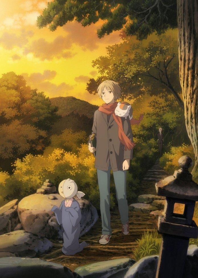 Filme anime de Natsume's Book of Friends em Janeiro 2021