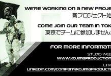 Hideo Kojima confirma que está a trabalhar em novo projeto