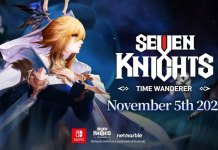 Seven Knights: Time Wanderer a 5 de Novembro na Nintendo Switch
