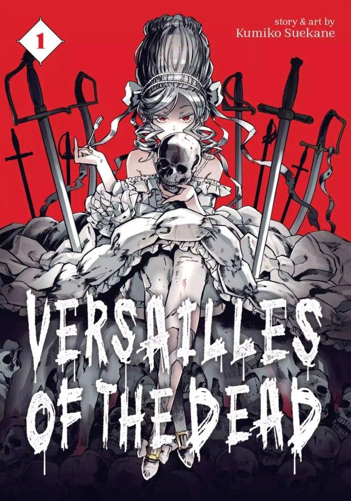 Capa do volume 1 de Versailles of the Dead