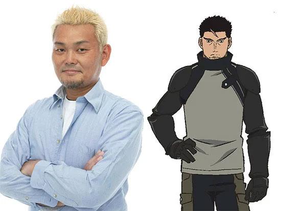 Hisao Egawa como Gatlin