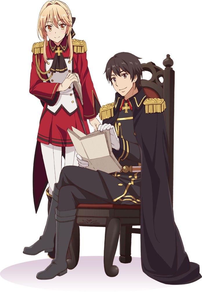 Anime de How a Realist Hero Rebuilt the Kingdom em julho de 2021