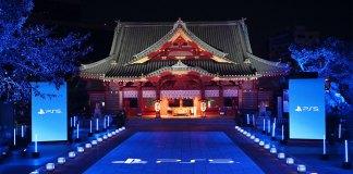 PlayStation celebra lançamento da Playstation 5 no santuário Kanda Myojin em Akihabara