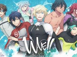 Série anime de WAVE!! Surfing Yappe!! em janeiro de 2021