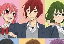 Revelada nova imagem promocional e elenco da série anime de Horimiya