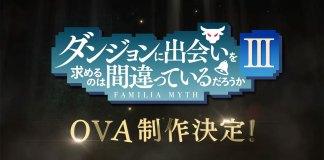 OVA de DanMachi 3 em abril de 2021