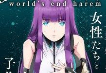 Série anime de World's End Harem revela imagem promocional, staff e elenco