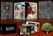 Dr. Stone Stone Wars box