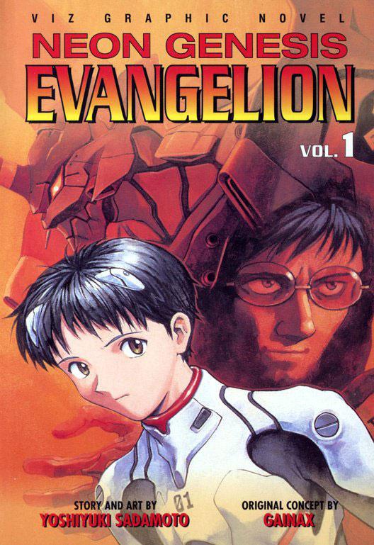 Neon Genesis Evangelion volume 1 cover