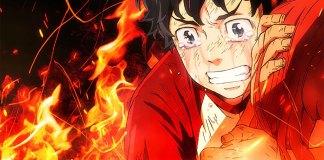 Imagem promocional da série anime de Tokyo Revengers