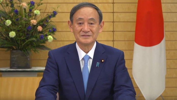 Yoshihide Suga japan