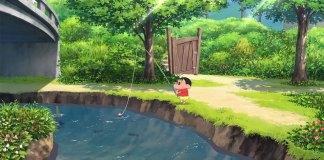 Crayon Shin-chan My Summer Vacation With the Professor screenshot