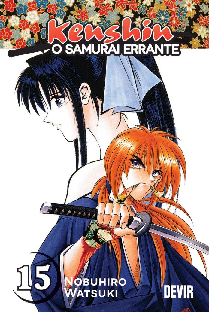 Capa do volume 15 de Kenshin, o Samurai Errante