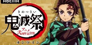 Evento especial de Kimetsu no Yaiba dia 14 de fevereiro