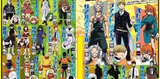 Mais designs de personagens de My Hero Academia 5