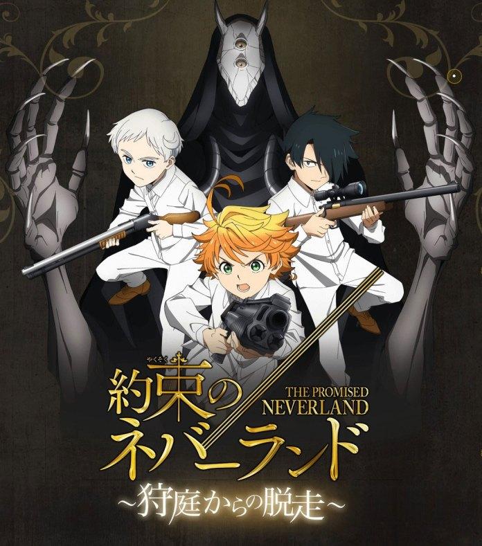 Yakusoku no Neverland Kariniwa Kara no Dassou poster