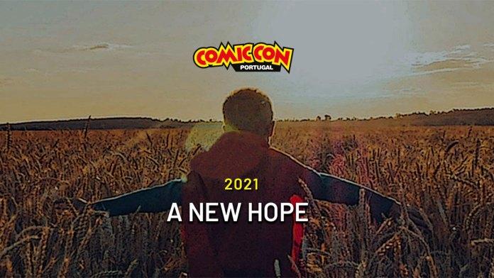 Comic Con Portugal 2021 logo