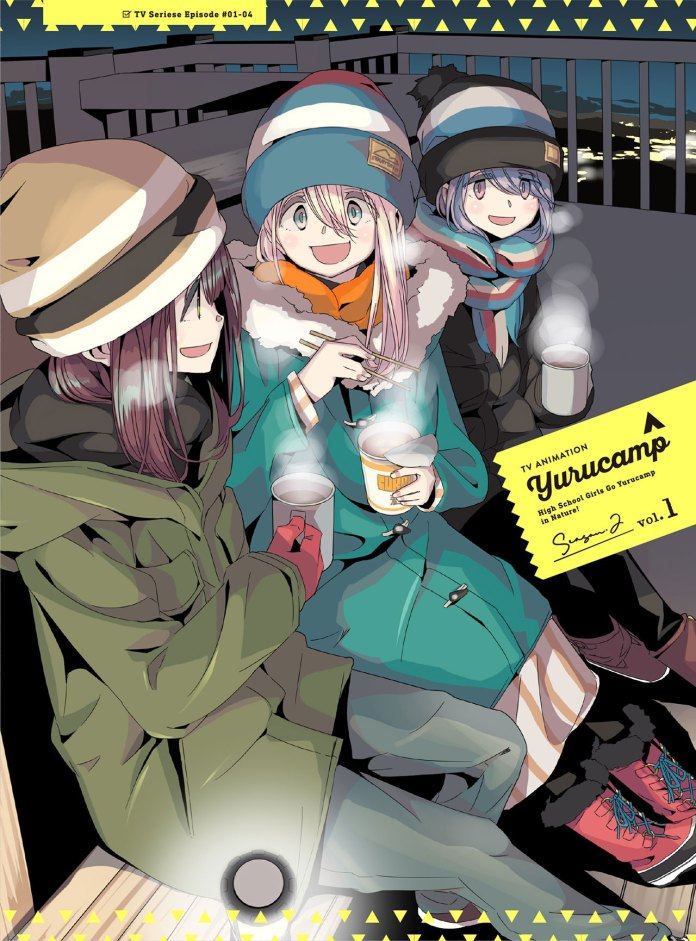 DVDBD de Yuru Camp 2
