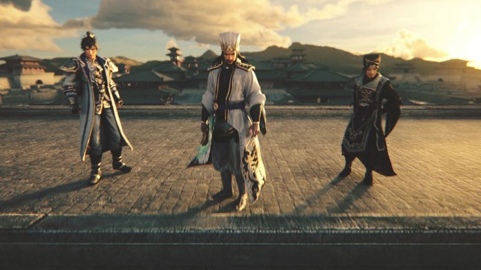 Dynasty Warriors 9 Empires opening screenshot