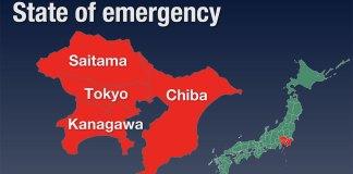 Japão estende estado de emergência