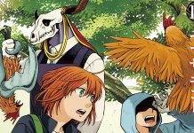 Mahoutsukai no Yome vol 15 teaser cover manga