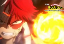 My Hero Academia 5 Todoroki screenshot