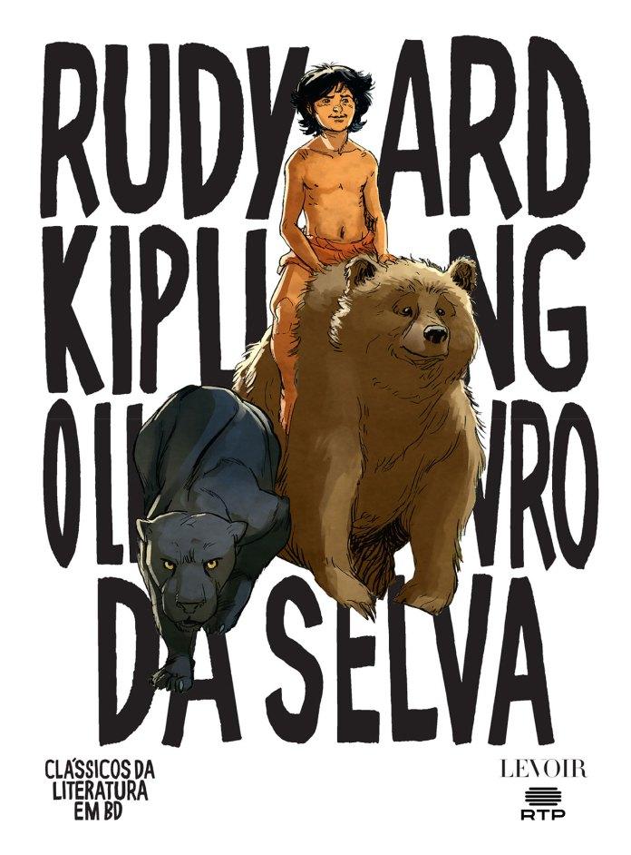 Capa de O Livro da Selva pela Levoir
