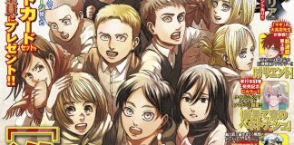 Esgotaram as cópias da mais recente edição da Bessatsu Shonen Magazine com o final de Attack on Titan